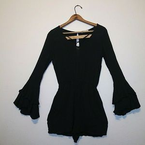 Black Hollister Romper